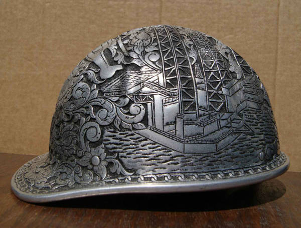 Carved Hard Hat Boing Boing