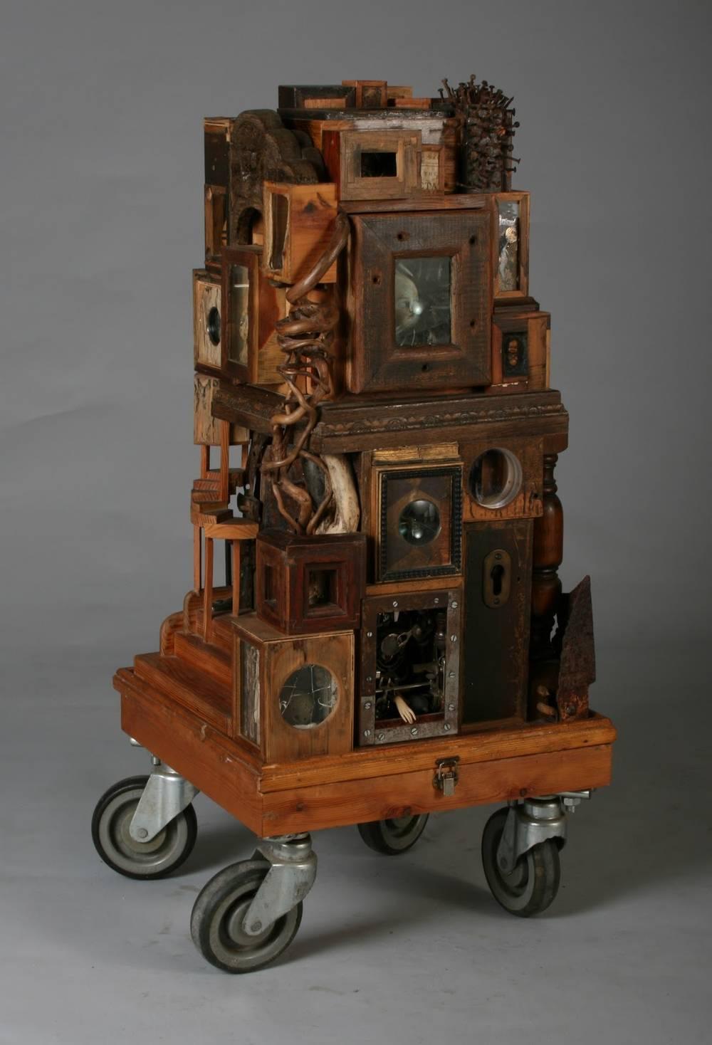 cabinet of curiosities sculpture