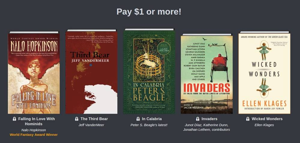 Humble Science Fiction and Fantasy Book Bundle: more than 20