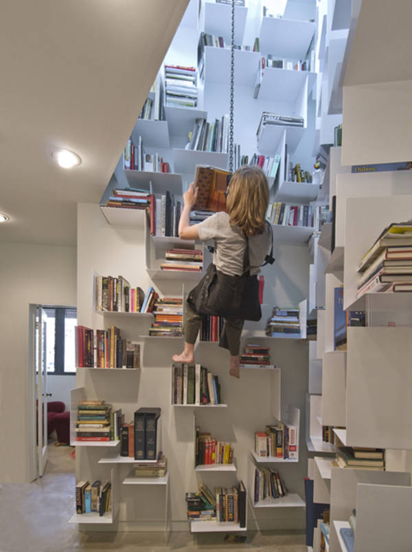 Rock Climbing Bookcase 600 x 802