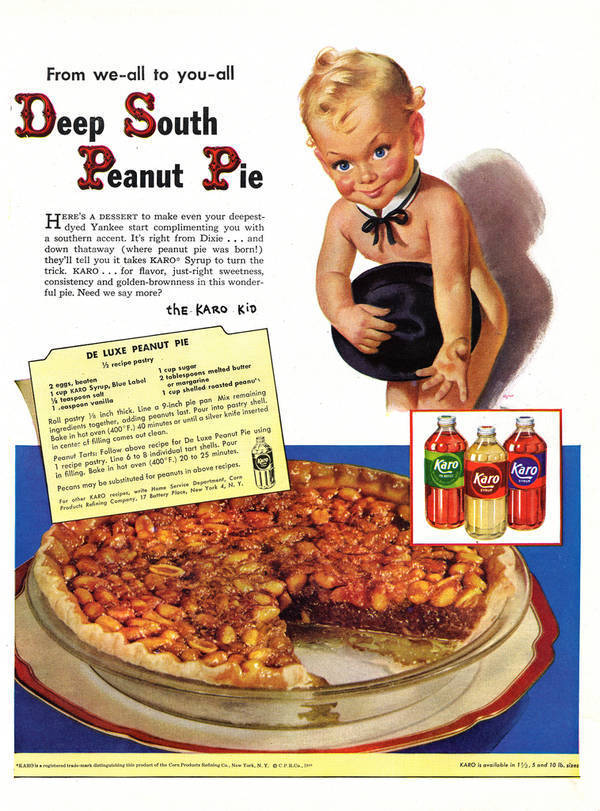 Creepiest Vintage Kid Ad Deep South Peanut Pie Boing Boing