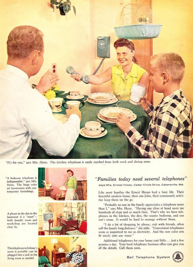 telephone ad extra landlines