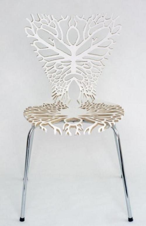 Anatomical laser cut chairs boing boing - Destockage chaise design ...