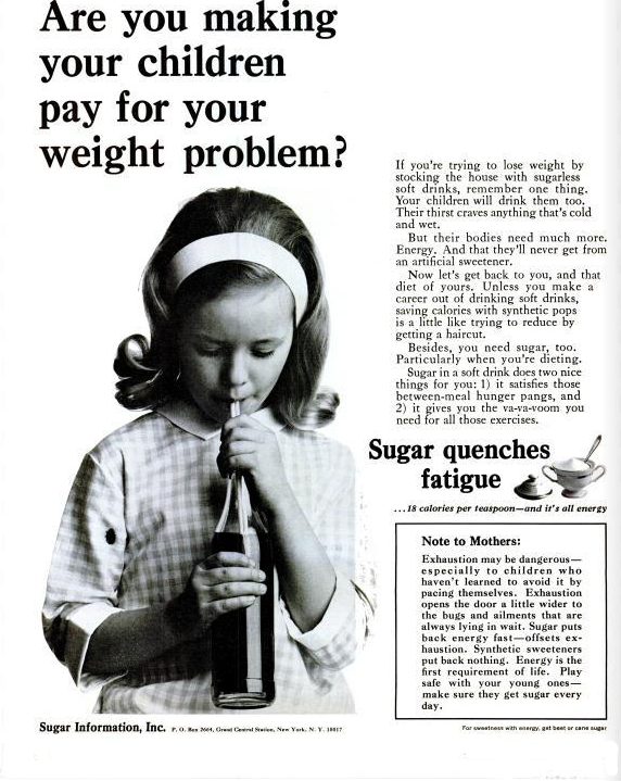 Sugar ad: your diet is depriving your kids of vital sugar ...