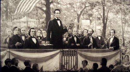 Lincoln Douglas Debate Audiobook Civics History And