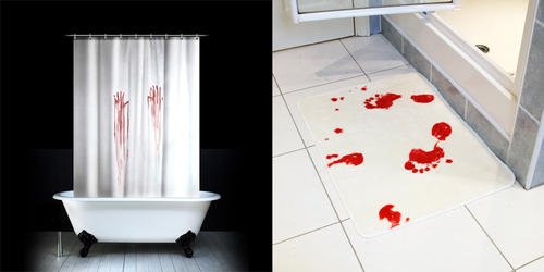 Simulated Crime Scene Bathroom Accessories Boing Boing