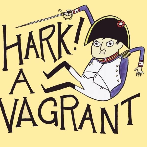 Hark A Vagrant Comic Cake