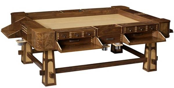 Geek Chic S Insane And Beautiful Gaming Tables Boing Boing