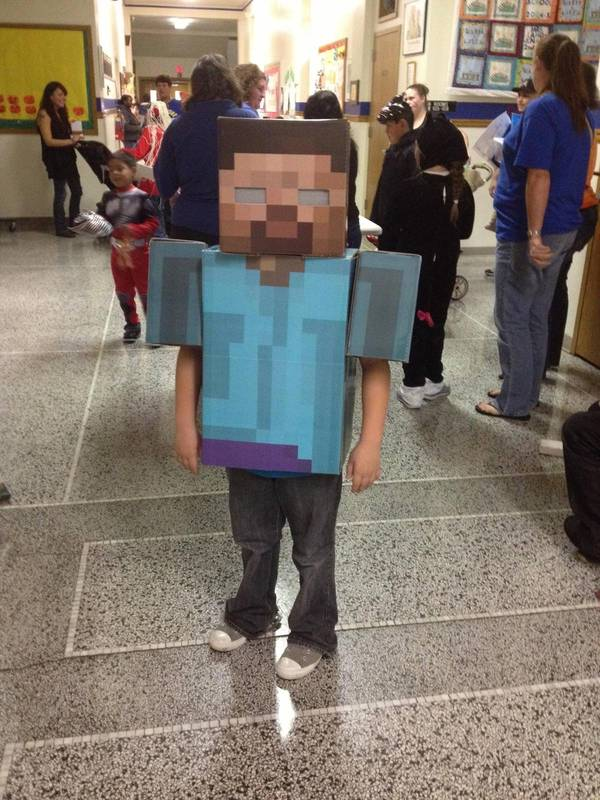 matt sez here s a link for the herobrine costume i made for my son ...