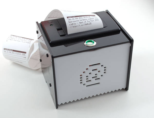 Diy Quot Internet Of Things Quot Printer Boing Boing