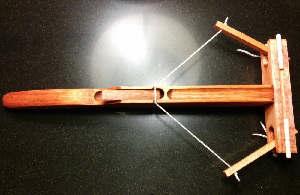 Wooden Marshmallow Catapaults Arbalests And Trebuchets