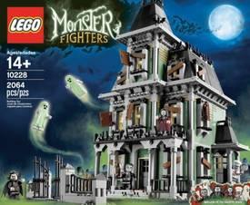 Lego's massive Haunted House set / Boing Boing