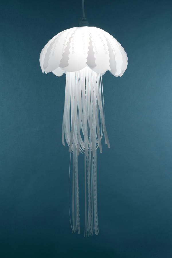 hanging jellyfish lights boing boing. Black Bedroom Furniture Sets. Home Design Ideas