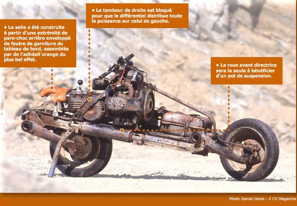 2cv motorbike