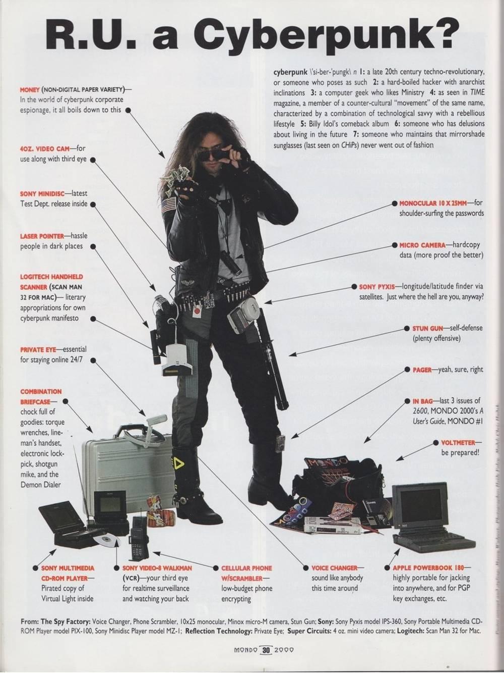 Cyberpunk Shoes Men