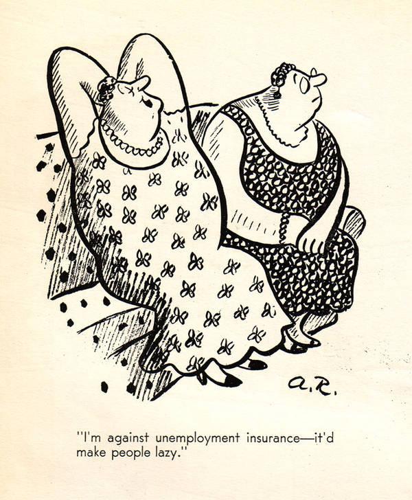 Unemployment satire