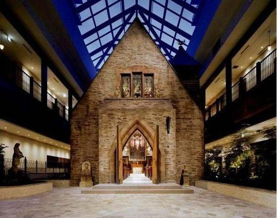 Wee English Church Rebuilt On 22nd Floor Of Osaka Tower
