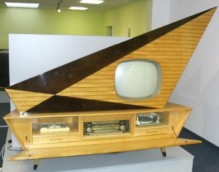 Vintage console tv and hi fi boing boing for Home router architecture