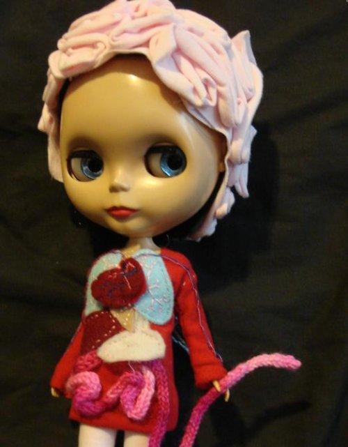 blythe doll internal organs