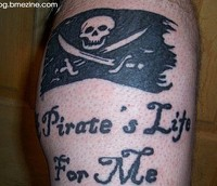 pirate tattoo designs