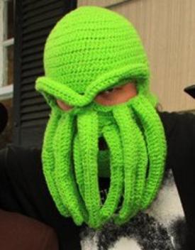 Cthulu ski mask
