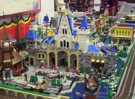 Disney Main Street Built From Legos Boing Boing