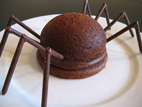 How To Make A Spider Shaped Cake