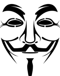 ... Guy Fawkes mask, suitable for urban art, dress-up, and silkscreening