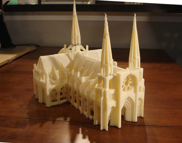 Modular 3d Printed Gothic Cathedral Boing Boing