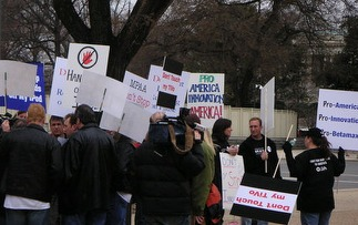 http://craphound.com/images/groksterprotestors.jpg