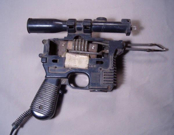 soldering gun made from modded han solo blaster the han solderer boing boing. Black Bedroom Furniture Sets. Home Design Ideas