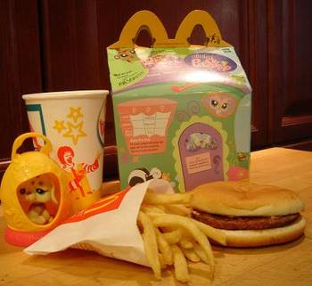 Happy Meal is ageless: no decay in a year on a shelf / Boing Boing