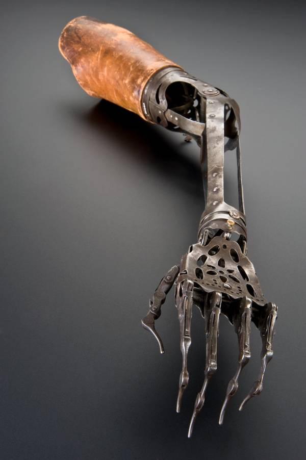 Victorian Quot Rather Sinister Quot Artificial Arm And Hand