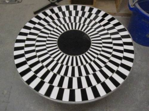 Optical Illusion Spiral Table Boing Boing