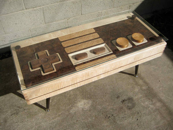 Wonderful Etsy Seller TheBohemianWorkbench Combines Fine Joinery With Fine Nerdery  And Comes Up With A Beautiful, Handmade Wooden Coffee Table That Resembles  A Giant ...