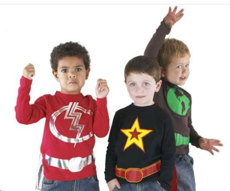 littlecapers Little Capers sells kid sized caped crusader suits for your junior underwear ...