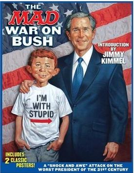 Mad Magazine S War On Bush Collection Boing Boing