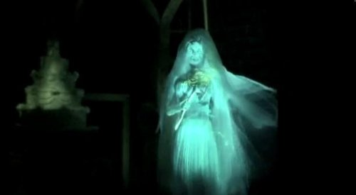 New Haunted Mansion in Disney World - Video with binaural sound ...