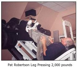 Pat Robertson S Power Shake Gives Him Super Legs Boing Boing