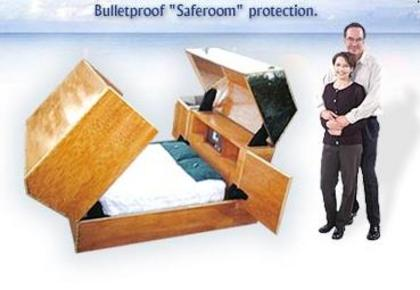 Bulletproof Quot Anti Terrorist Quot Bed With Air Supply Toilet