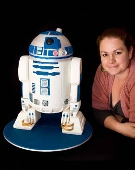 Awesome And Enormous 3d R2d2 Cake Boing Boing