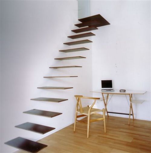 Floating Staircase Boing Boing