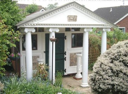 Shed of the year 2007 Roman temple in your garden Boing