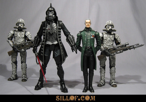 Steampunk Star Wars modded action figures -- woah! Posted by Cory Doctorow,