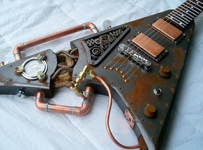 VIRTUAL POONA: Guitar Modding