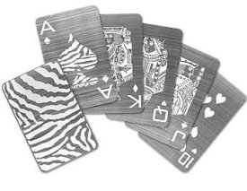 Stainless Steel Playing Cards Boing Boing