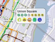 Union Square Subway Map