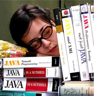Sleeping Geek from Craphound.com