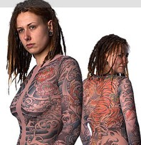 Tattoo Shirts for the Illusion of Full Body Tattoos
