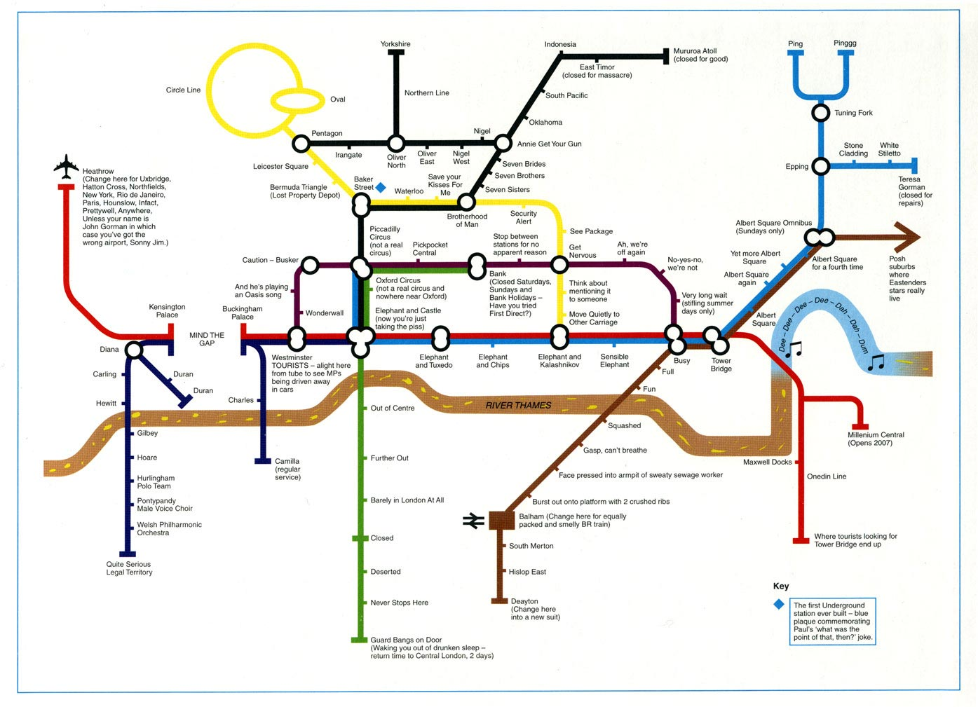 The best London Underground Tube map pastiches Telegraph – French Tube Map